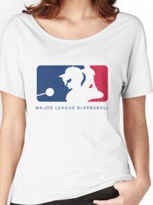 Major League Blernsball (White) Women's Relaxed Fit T-Shirt