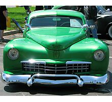 Mean Green Photographic Print