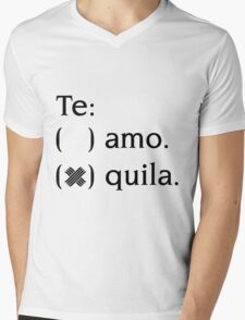 Tequila Mens V-Neck T-Shirt