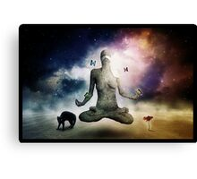 Balancing Temptation Canvas Print