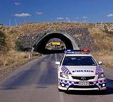 Moura Mine Tunnel by Stecar