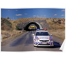 Moura Mine Tunnel Poster