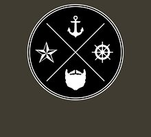 Bearded Sailor Seal Unisex T-Shirt