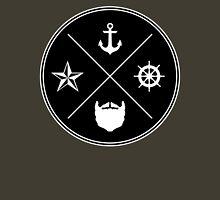 Bearded Sailor Seal T-Shirt