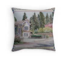 Riverglen Cottage Throw Pillow