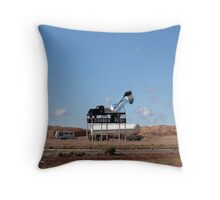 Announcing the famous Opal Town! Outback S.A. Throw Pillow