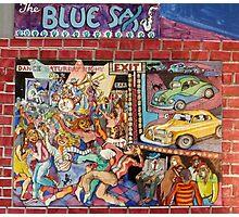 The Blue Sax Photographic Print