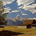 Barn on Mormon Row by Joe Elliott