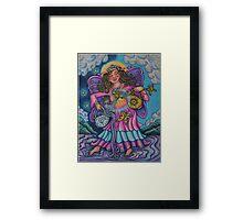 Tarot Pink Temperance Framed Print