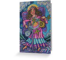 Tarot Pink Temperance Greeting Card