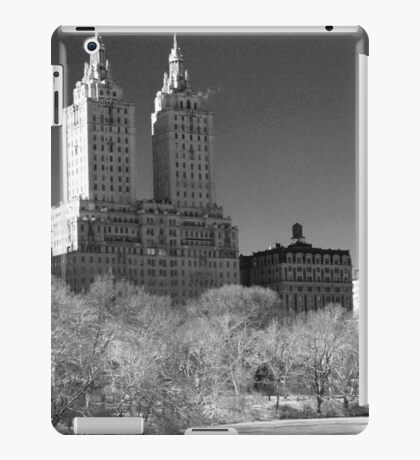 Twin buildings  iPad Case/Skin