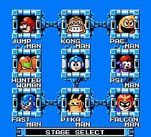 Mega Man x Super Smash Bros by Dewdneym