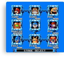 Mega Man x Super Smash Bros Canvas Print