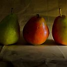 Three Pears by rudolfh