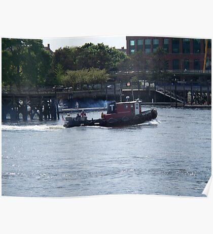 Tugboat- Prescott Park Poster