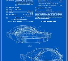 Stadium Patent - Blueprint by FinlayMcNevin