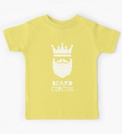 Beard Circus Logo Destroyed Kids Tee