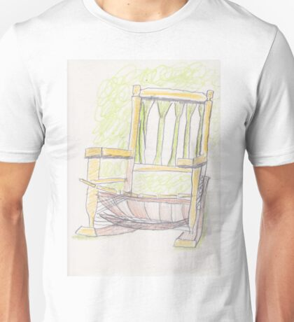 Rocking Chair Unisex T-Shirt