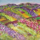 Purple Fields  by Mary Sedici