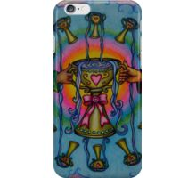 Ten of Cups Tarot Pink for Cancer iPhone Case/Skin