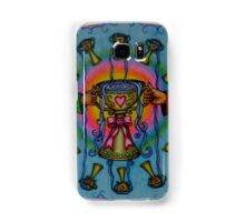 Ten of Cups Tarot Pink for Cancer Samsung Galaxy Case/Skin