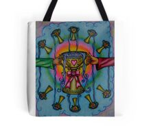 Ten of Cups Tarot Pink for Cancer Tote Bag