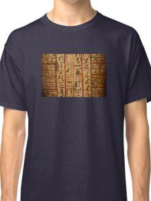 Egypt hieroglyphs Classic T-Shirt
