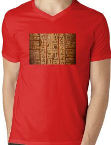 Egypt hieroglyphs Mens V-Neck T-Shirt