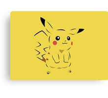 Pokemon Pikachu Art Canvas Print