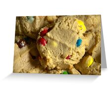 Chocolate Candy Cookies Greeting Card