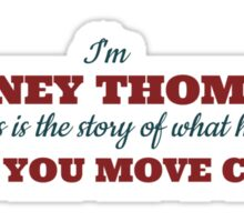Legend of Barney Thomson - Move Chairs Sticker