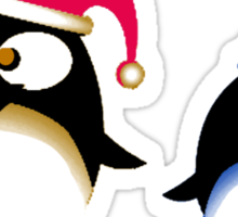 Penguins. Sticker