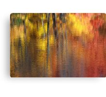Road side view Canvas Print