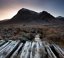 Lagangarbh, Buchaille Etive Mor by Alex Scott