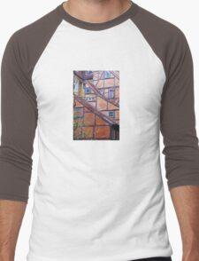 Tutor architecture in Copenhagen, Denmark Men's Baseball ¾ T-Shirt