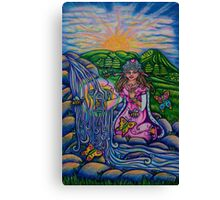 Princess of Cups  Triumph of Life Tarot Canvas Print