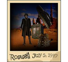 The War Doctor in Roswell Photographic Print