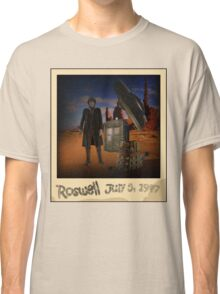 The War Doctor in Roswell Classic T-Shirt