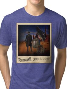 The War Doctor in Roswell Tri-blend T-Shirt