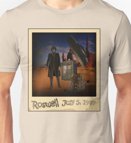 The War Doctor in Roswell Unisex T-Shirt