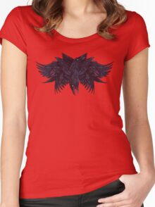 Crowberus Women's Fitted Scoop T-Shirt