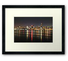 Gotham on the Hudson Framed Print