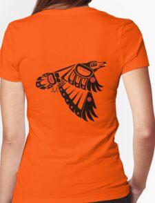 Kahkakiw - Raven Womens Fitted T-Shirt
