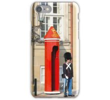 Royal guard at Amalienborg Royal Palace in Copenhagen, Denmark. iPhone Case/Skin