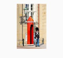 Royal guard at Amalienborg Royal Palace in Copenhagen, Denmark. Unisex T-Shirt
