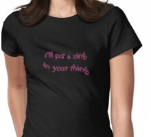 zing thing Womens Fitted T-Shirt