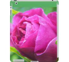 Pink Love--ly Rose Bud iPad Case/Skin