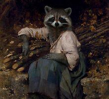 La Raccoon Du Bucheron by Suedetess