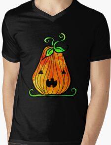 Pumpkin Jack Mens V-Neck T-Shirt