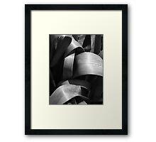 Like Ribbon Framed Print